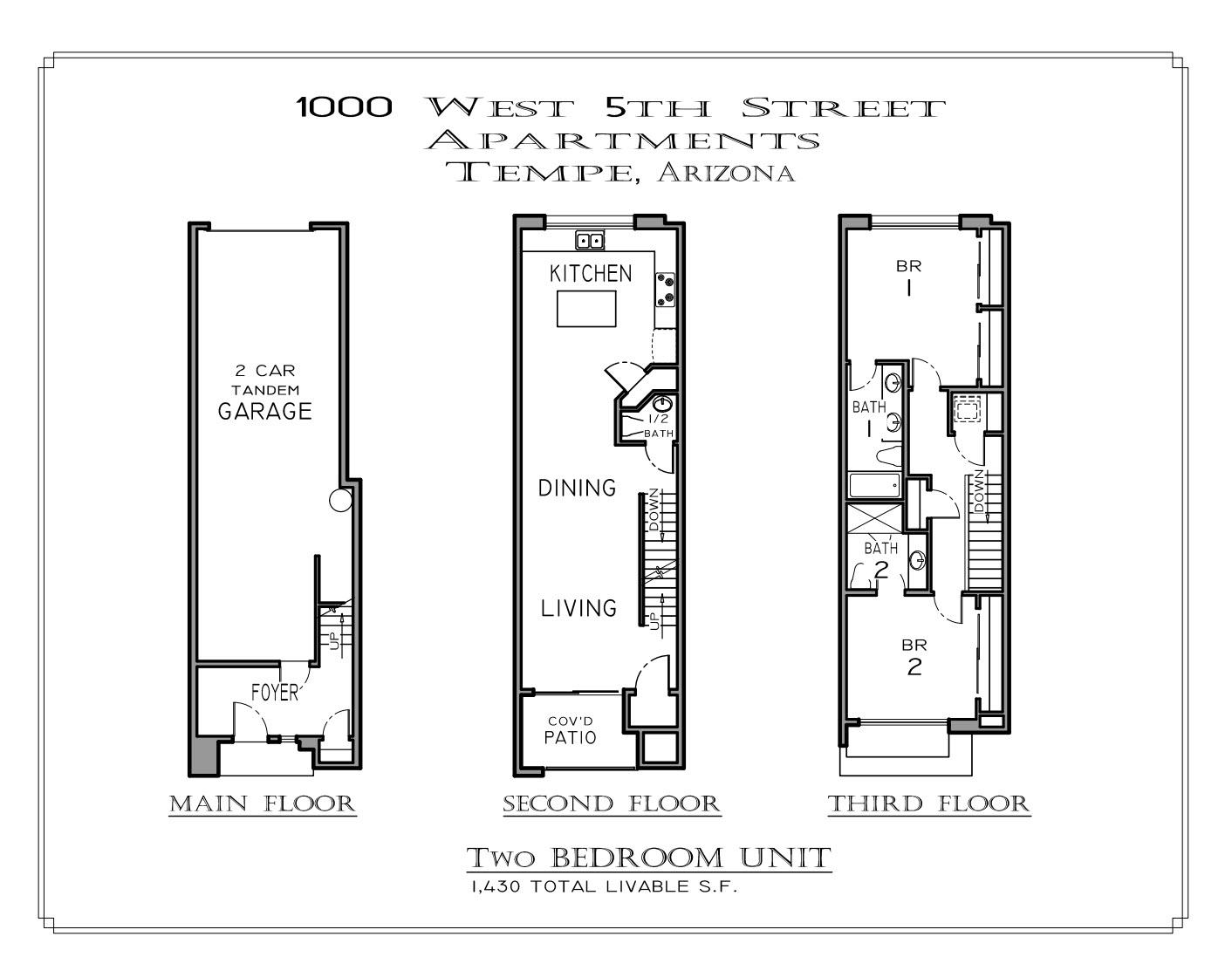 Floor plan 2bd