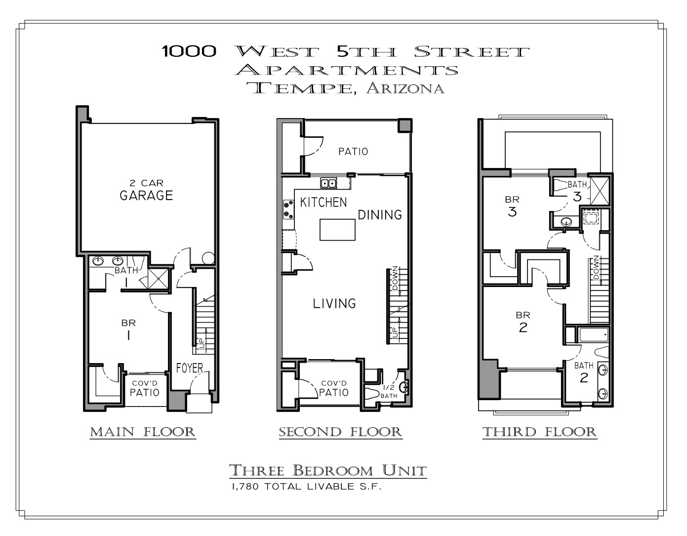 Floor plan 3bd