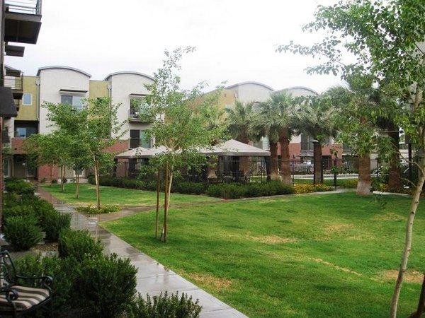 Garden area 525 town lake condos