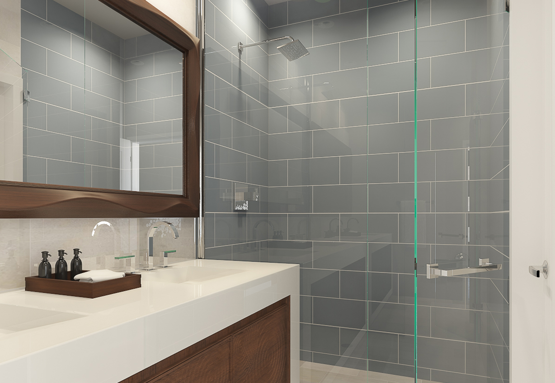 Aerium encore townhomes scottsdale bathroom floor plan b
