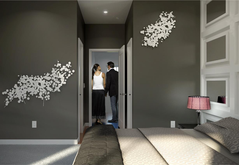 Aerium encore townhomes scottsdale bedroom floor plan b