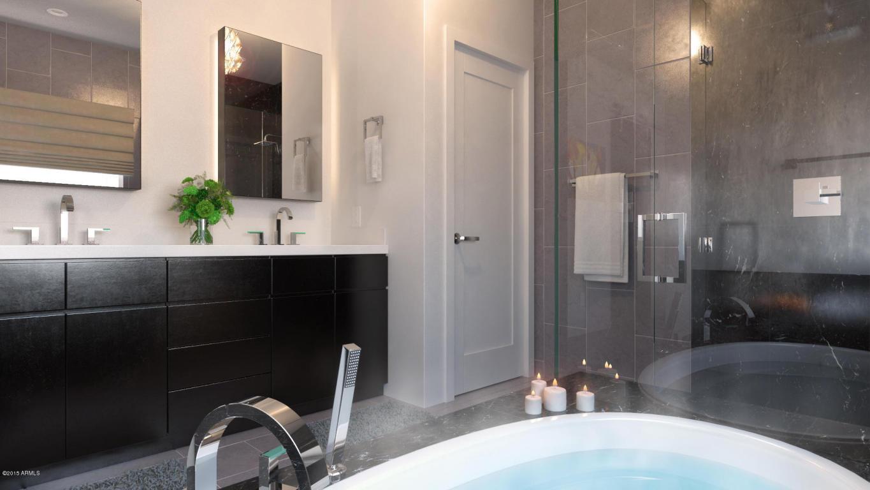 Aerium scottsdale bathroom rendering