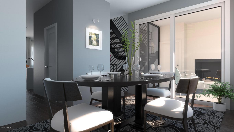Aerium scottsdale dining area rendering