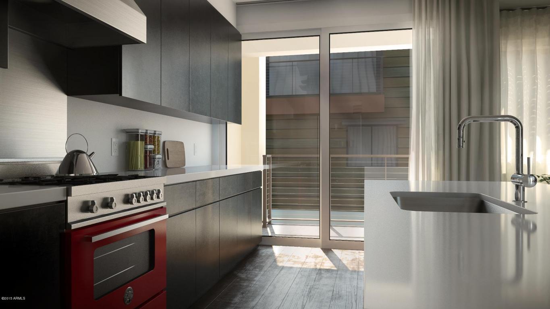 Aerium scottsdale kitchen rendering
