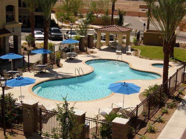Pool artesia condos
