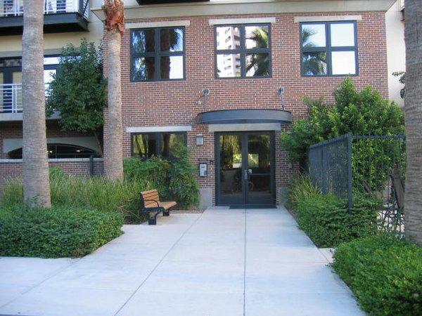 Entrance artisan lofts osborn lofts