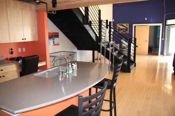 Kitchen area artisan lofts osborn lofts