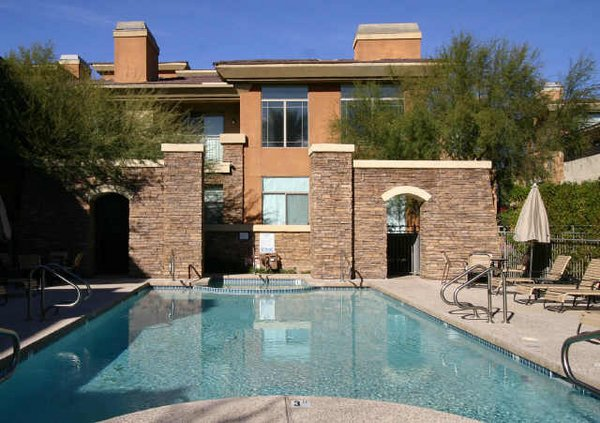 Pool astragal condos