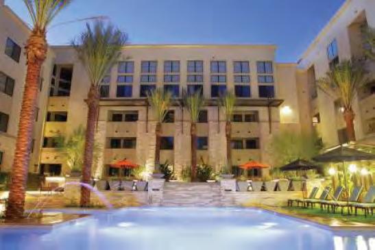Courtyard pool broadstone central condos