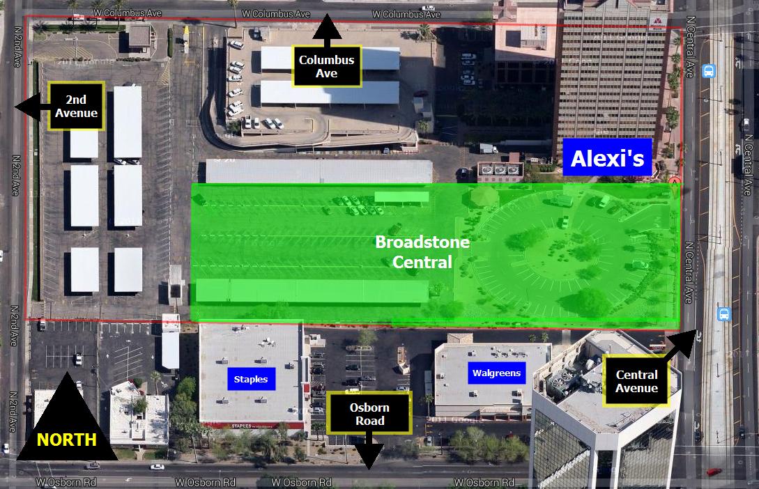 Map broadstone central condos