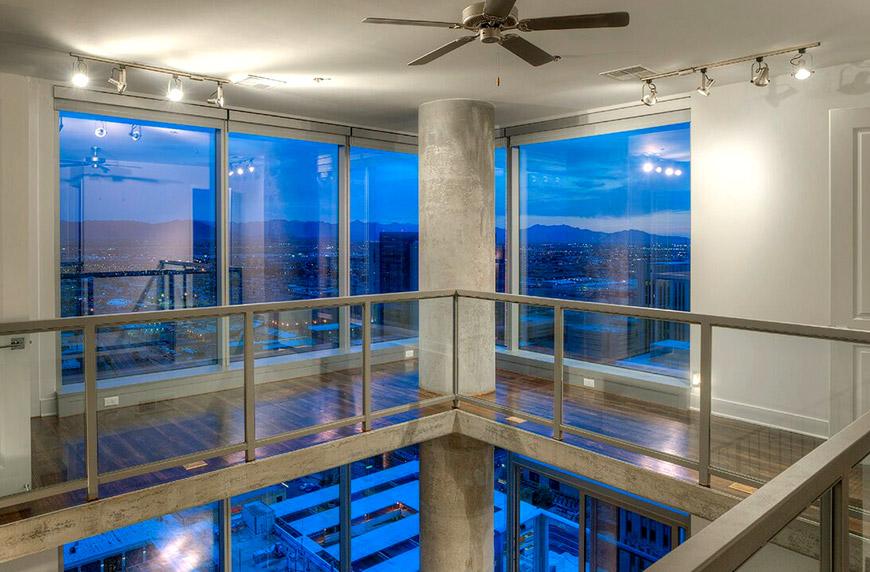 City scape interior loft2