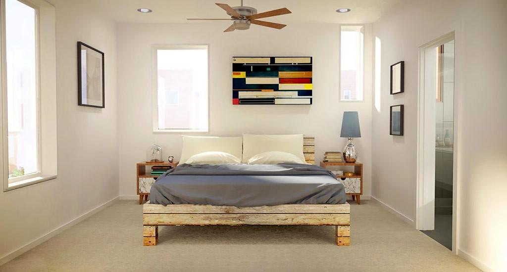 Coronado commons bedroom