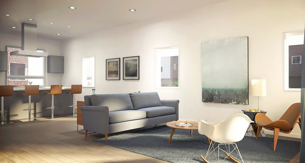 Coronado commons living room