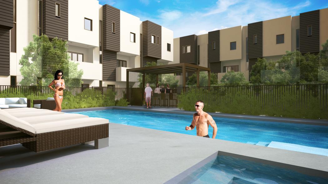 Coronado commons pool rendering