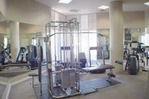 Fitness area crystal point condos