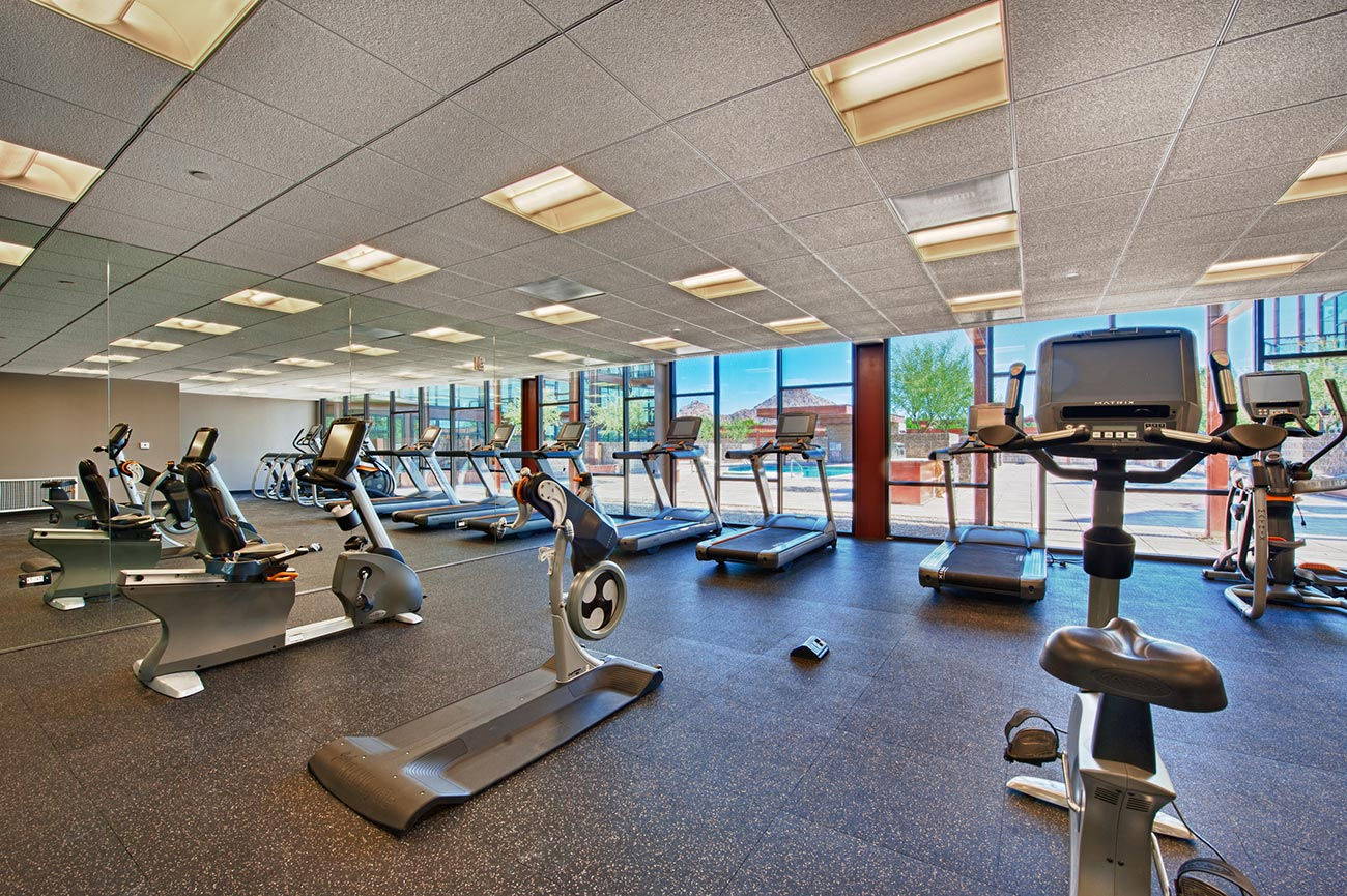 Fitness center domus condos