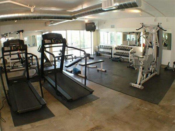 Fitness area embassy condos