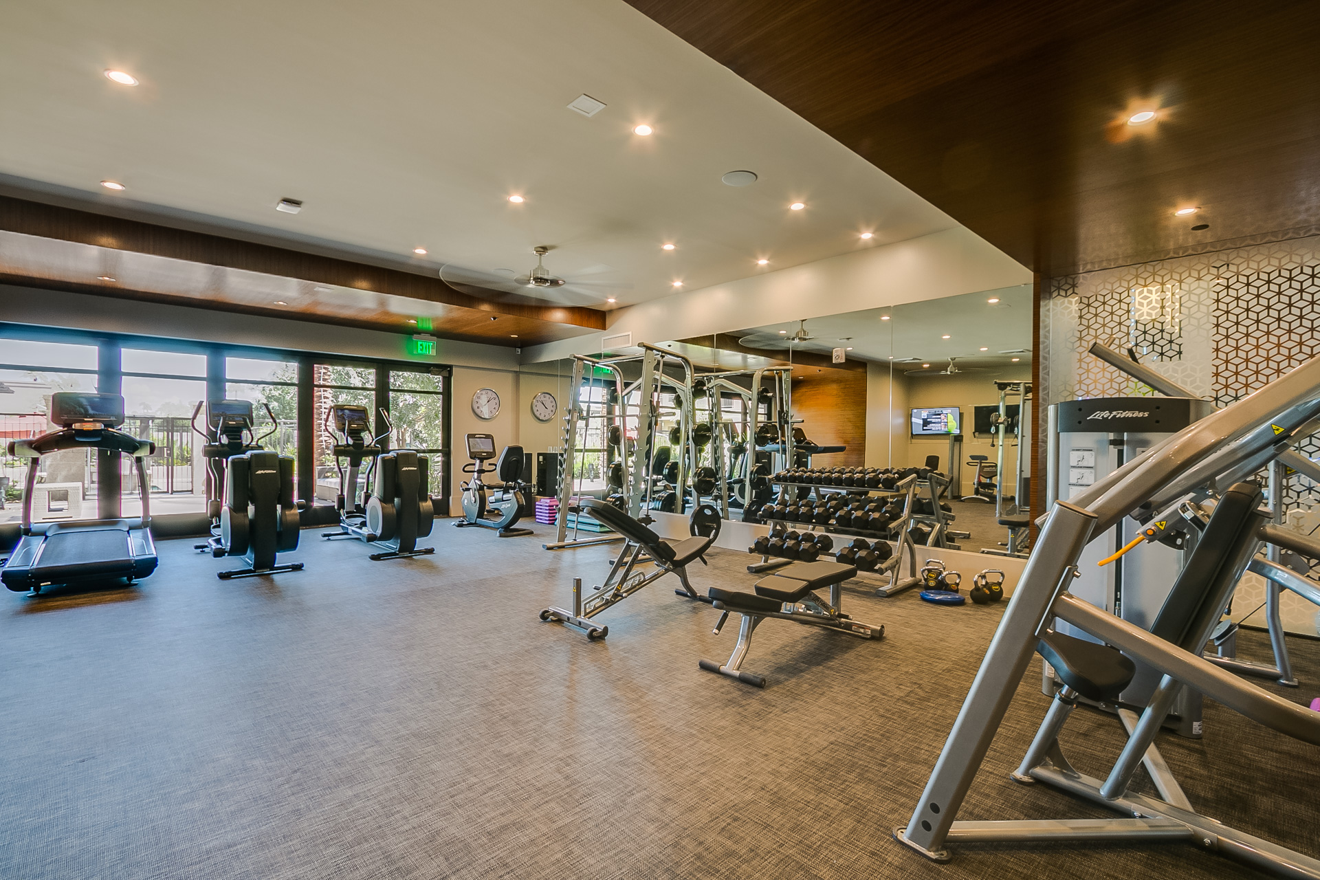 Enclave at borgata fitness center