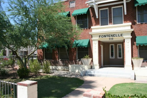 Entrance fontenelle house lofts