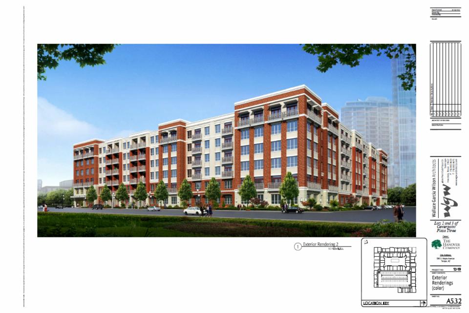 Plan hanover apartments