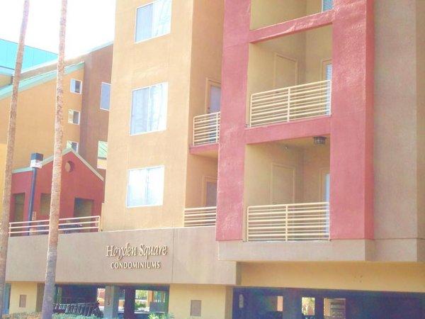 Building hayden square condos