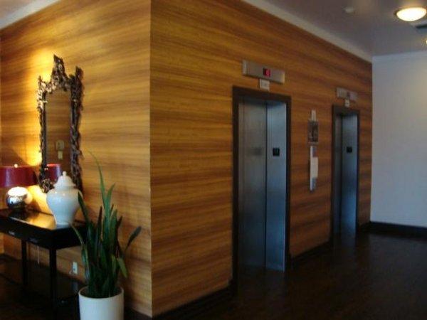 Elevator landmark on central condos