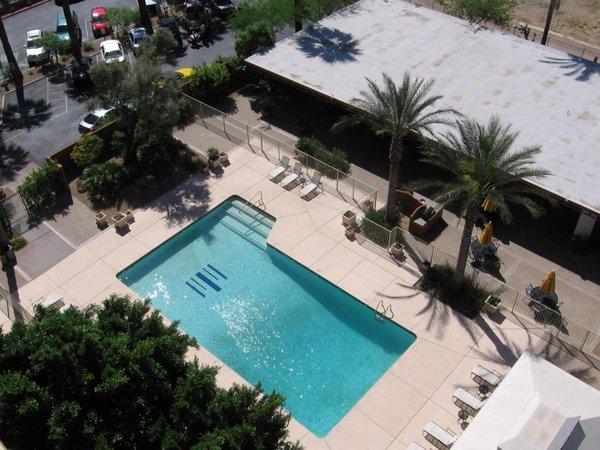 Pool topview landmark on central condos