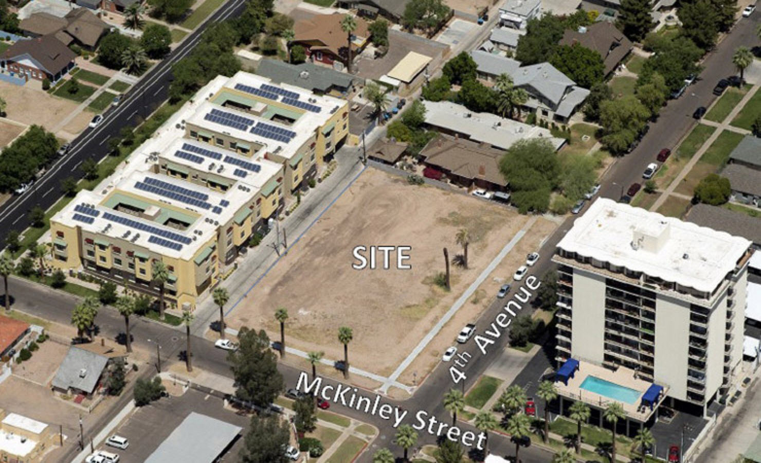 Mckinley row site