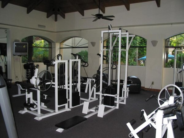 Fitness center meridian condos