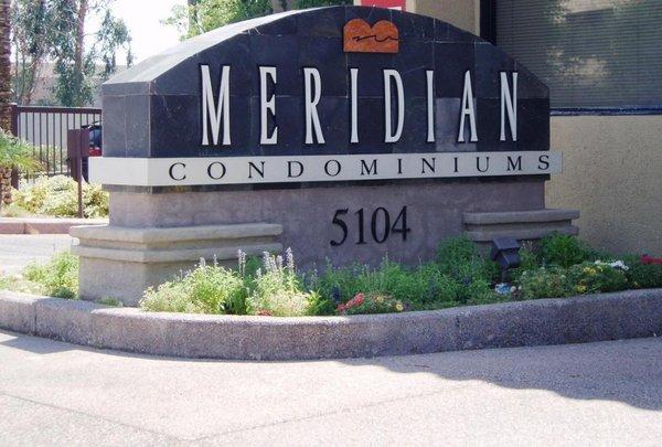 Signage meridian condos