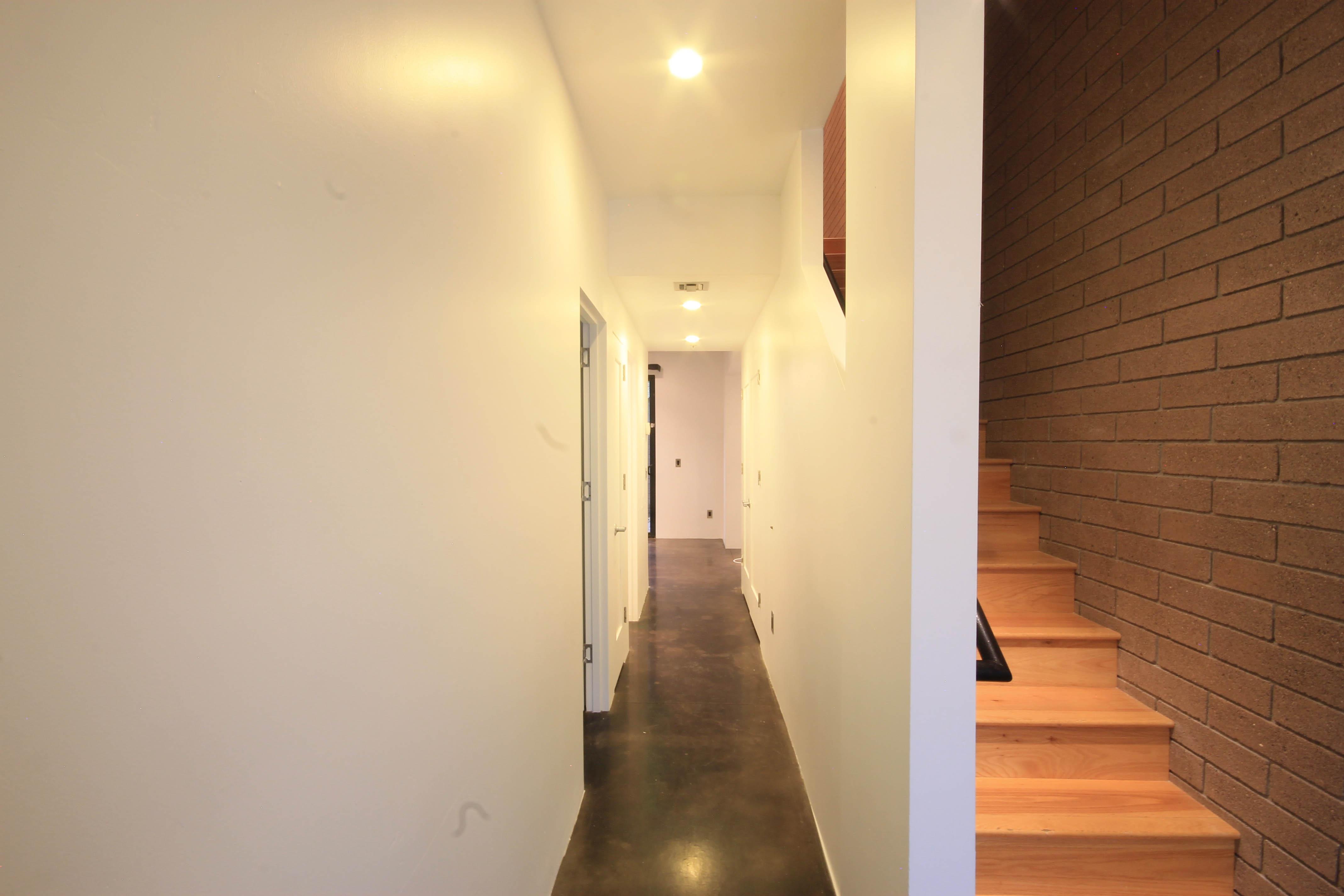 Metro 12 condominiums hallway 52