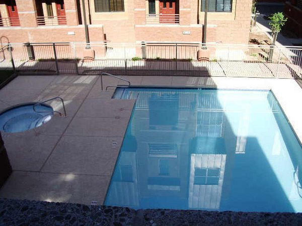 Pool 2 millstone townhomes