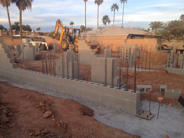 Footings mz living townhomes