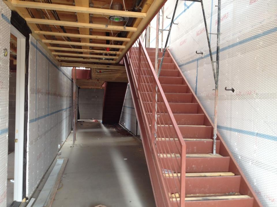 Stairs mz living townhomes