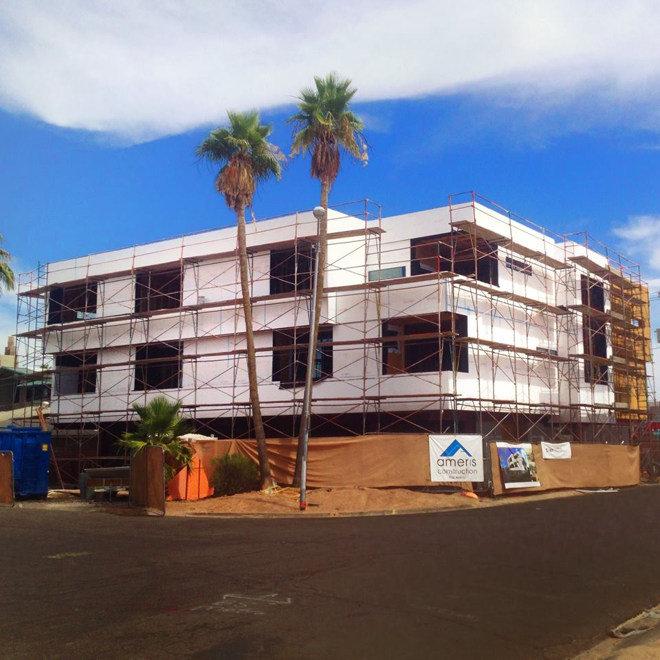 Under construction mz living townhomes