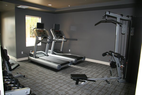 Fitness area northshore condos
