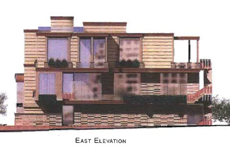 On the waterfront scottsdale east elevation rendering