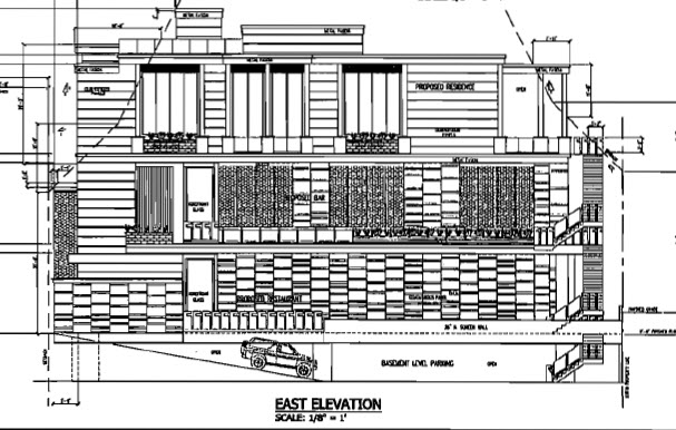 On the waterfront scottsdale east elevation