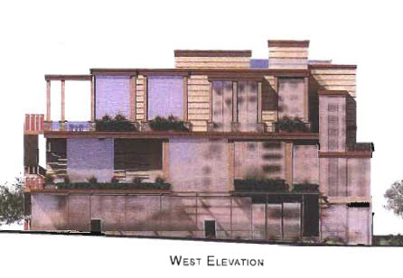 On the waterfront scottsdale west elevation rendering