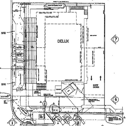 On the waterfront site plan