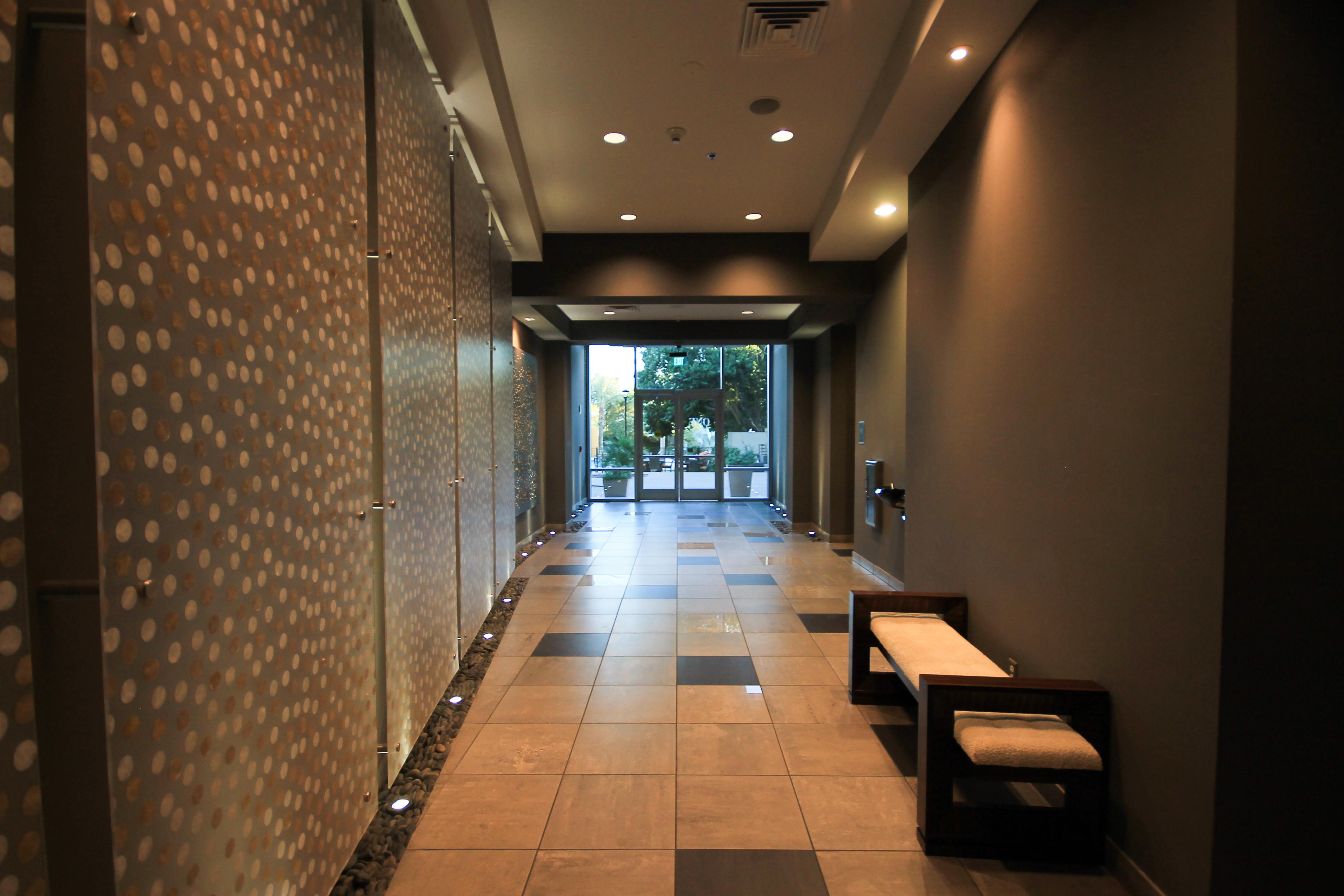 Hallway one lexington condos