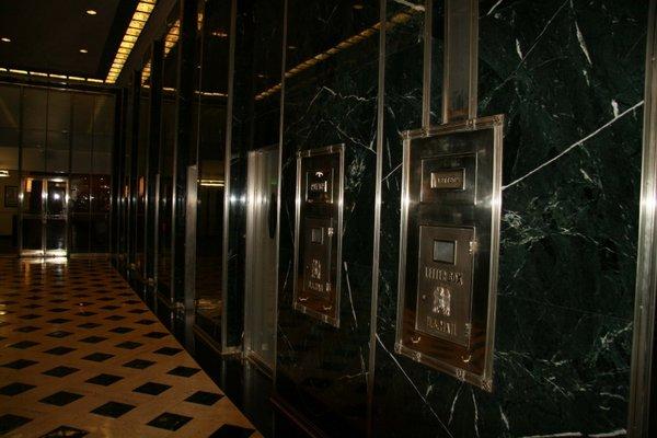 Hallway orpheum lofts