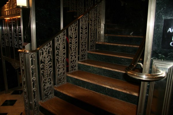 Stairs orpheum lofts