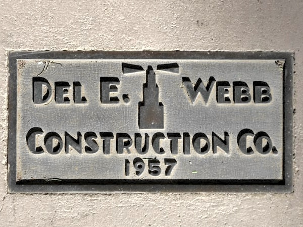 Construction plaque phoenix towers condos