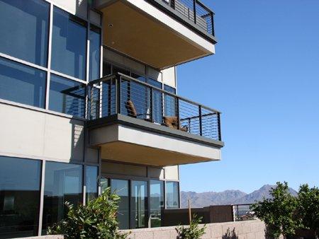 Balcony plaza lofts at kierland lofts