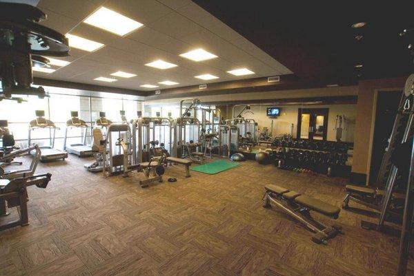 Gym plaza lofts at kierland lofts