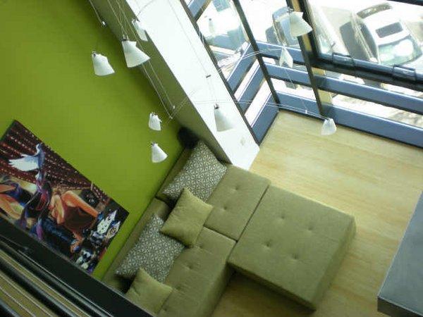 Interior plaza lofts at kierland lofts