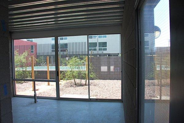 Interior portland 38 row houses