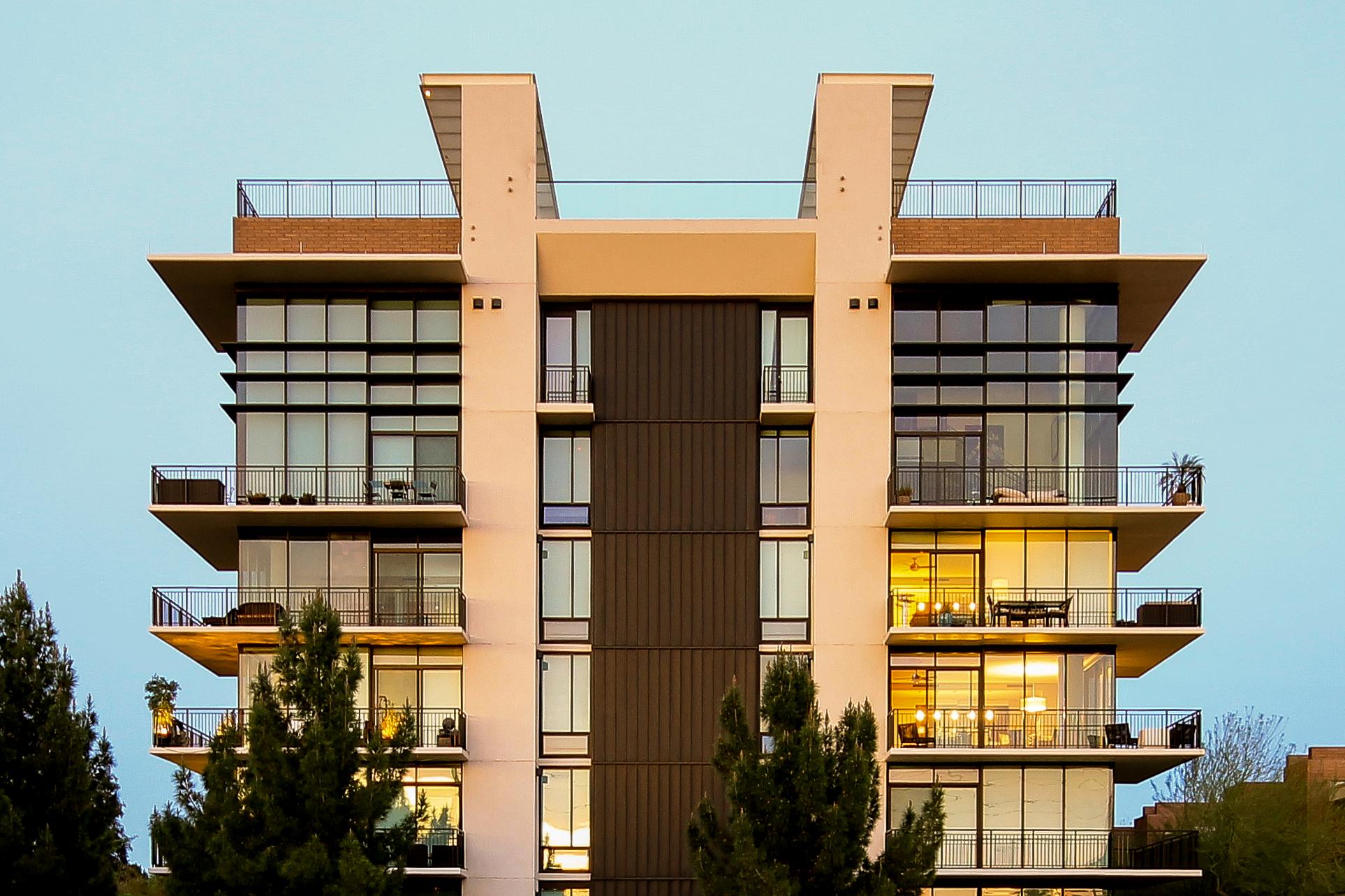 Front building portland place condos