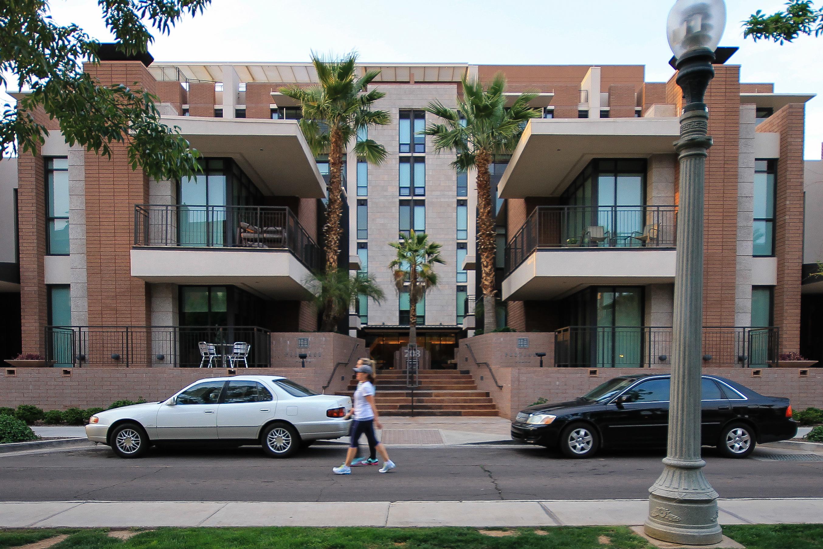 Sidewalk portland place condos
